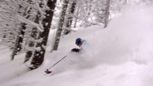 "Kopaonik, ""Powder day"", januar 2012"